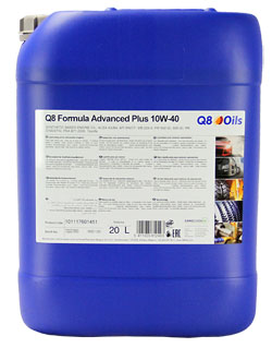 Моторное масло Q8 Formula Advanced Plus 10W-40 (20л)